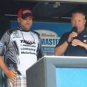 This is what it looks like when you take the lead by a single ounce early in the weigh-in